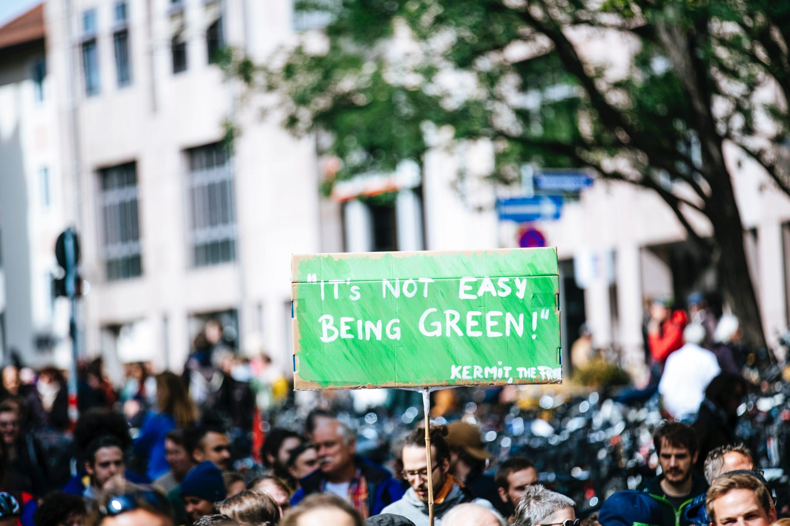 Demo für Nachhaltigkeit